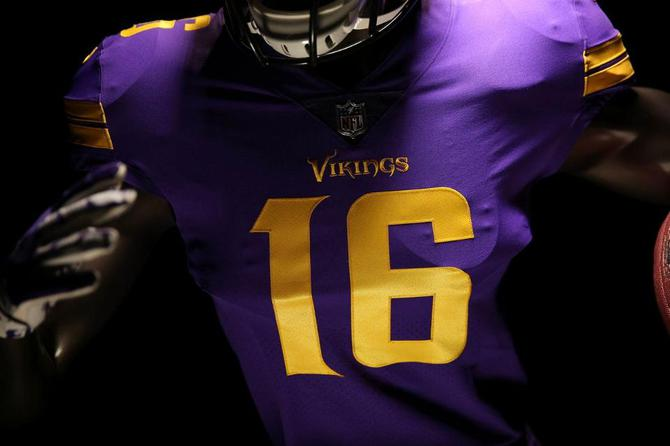 los angeles 2f9bc c3569 NFL, Vikings release Thursday Night Football Color Rush ...