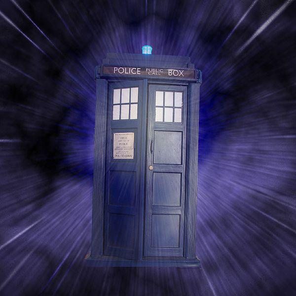 We have a cool Tardis money box sitting on the cupboard which I was playing with today. Thought it would a fun to take a picture of it and do a touch of photoshopping.