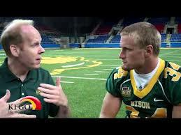 Grant Olson Right Speaks With Kfgo S Scott Miller