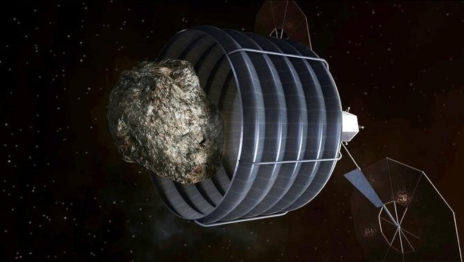 NASA wants to lasso an asteroid and bring it to the moon for studying ...