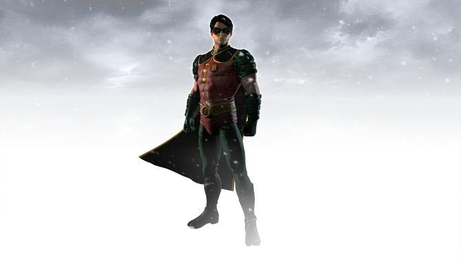 Batman Arkham Origins Robin