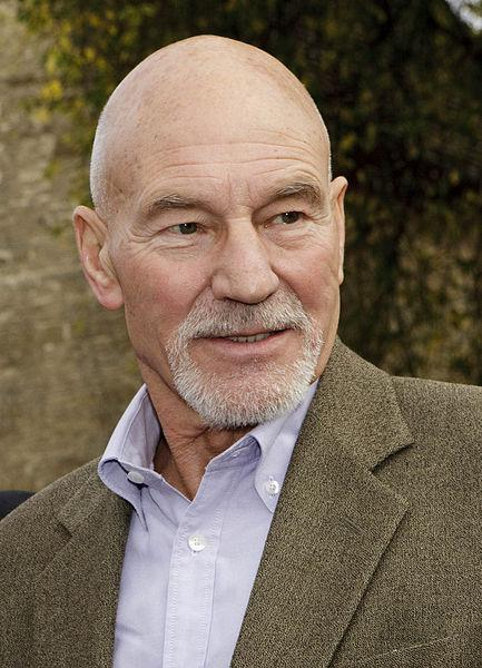 He is Patrick Stewart aka Captain Jean-Luc Picard from the Star Trek ...