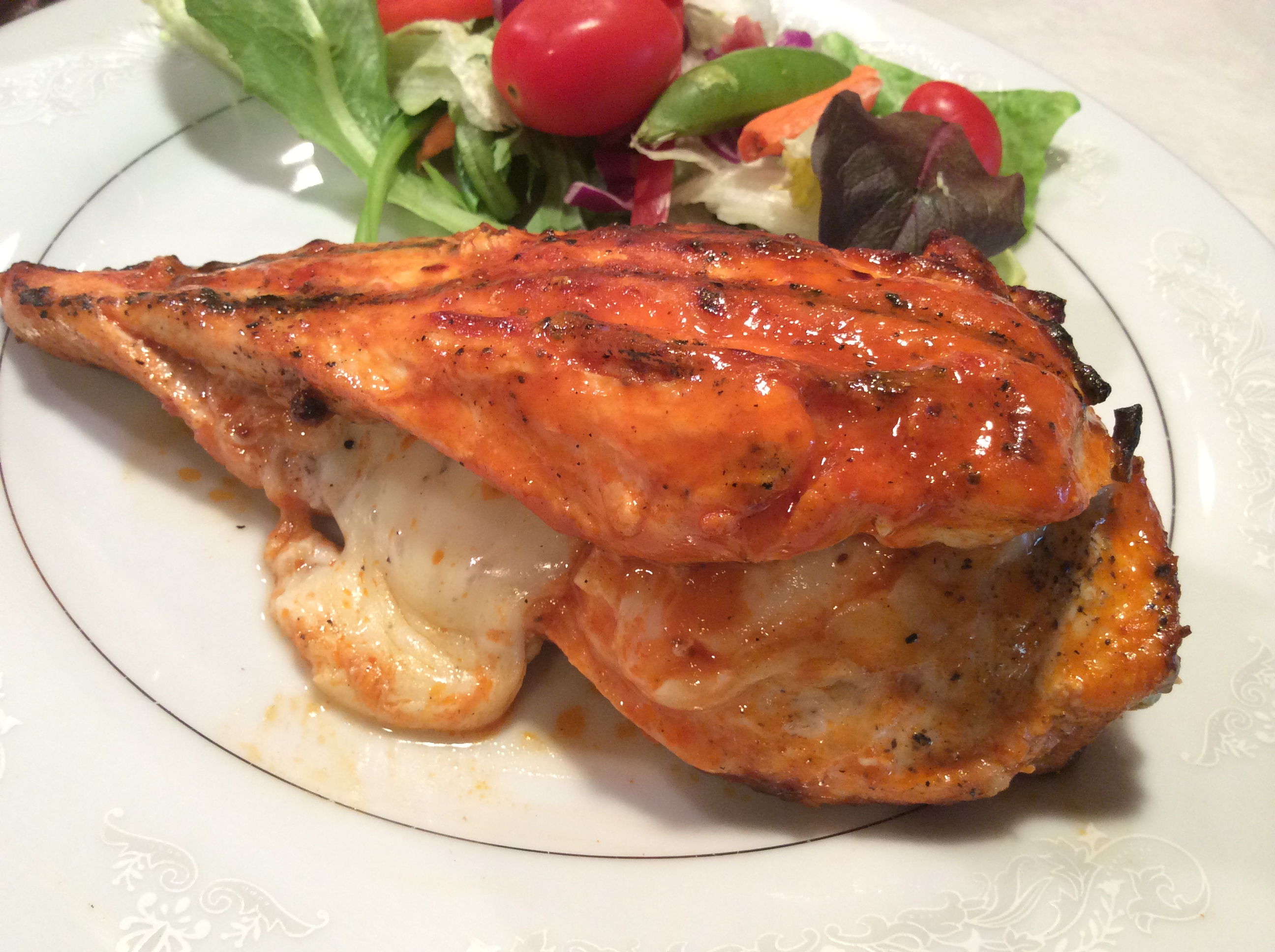 Grilled Stuffed Buffalo Chicken - Blogs - Big Country 92.5 ...