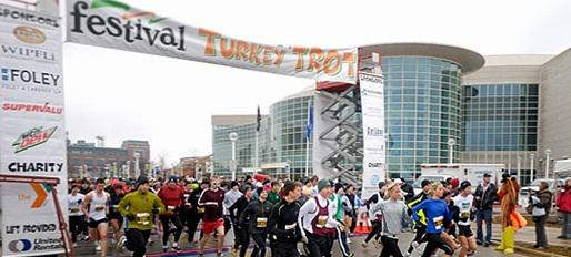 The 6th Annual Festival Foods Turkey Trot Is November 28th