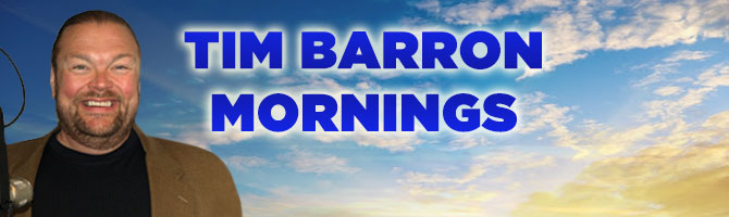 Tim Barron Mornings