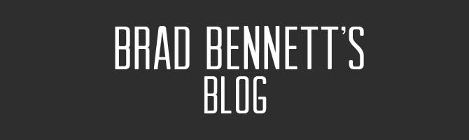 Brad Bennett's Blog