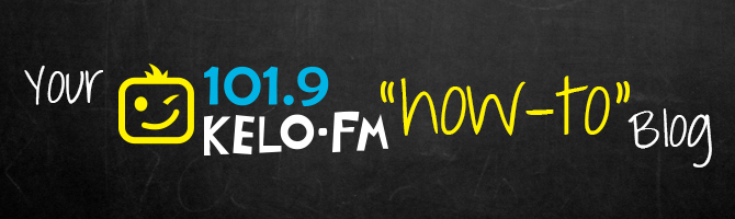 Your KELO-FM How-To Blog